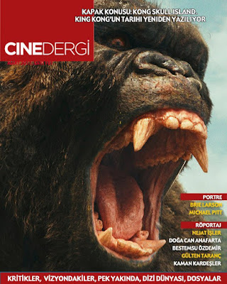Cinedergi 101. Sayı (Mart) - Kong: Skull Island