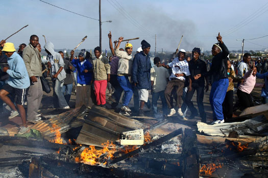 South Africa Xenophobic attacks: 5 Ghanaians Rescued