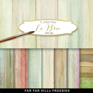 New Freebies Kit of Backgrounds - Le Brio.