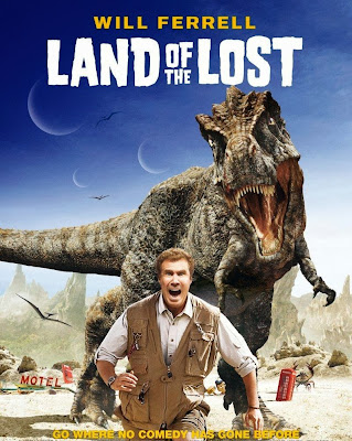 Poster Of Land of the Lost (2009) In Hindi English Dual Audio 300MB Compressed Small Size Pc Movie Free Download Only At worldfree4u.com