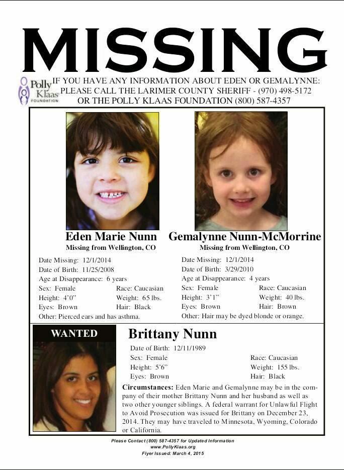 missing children flyer - Sendilcharlasmotivacionales