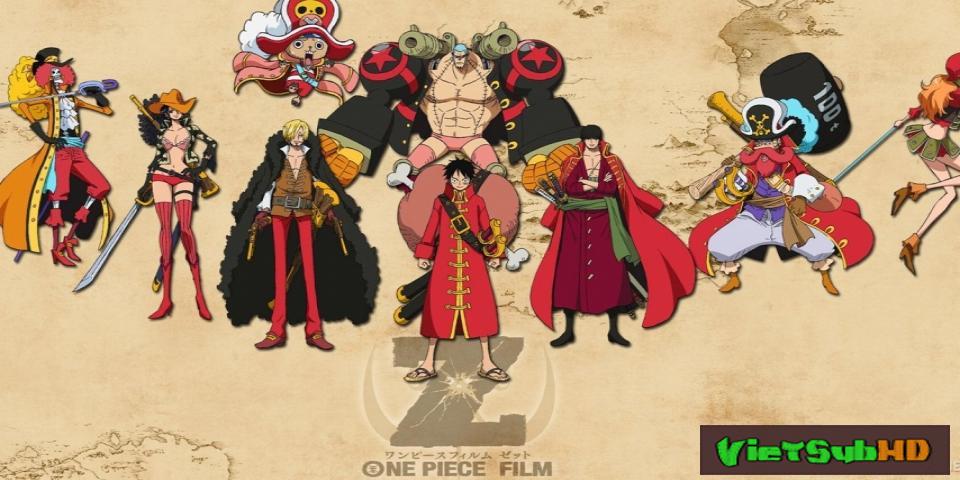 Phim Đảo Hải Tặc Z: Kỳ Phùng Địch Thủ VietSub HD | One Piece Film Z 2012