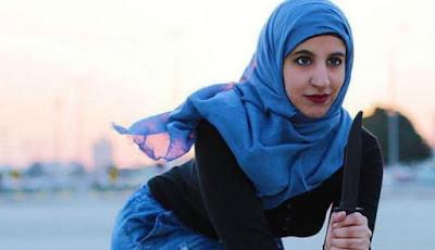 Wanita cantik ahli bela diri asal Arab Saudi, Reem al-Ouda