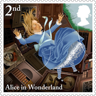 Reino Unido - Filatelia - 2015 - Alice in Wonderland 02