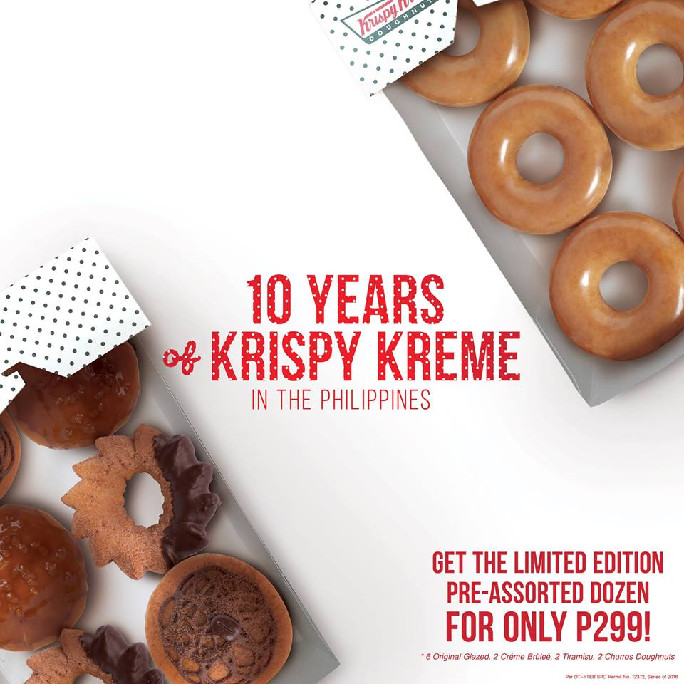 Krispy Kreme prices are setup to encourage customers to purchase donuts from the dozen. Along with selling doughnuts, Krispy Kreme also sells hot beverages, cold beverages, iced beverages, soft serve ice cream, chillers, and a number of shakes.