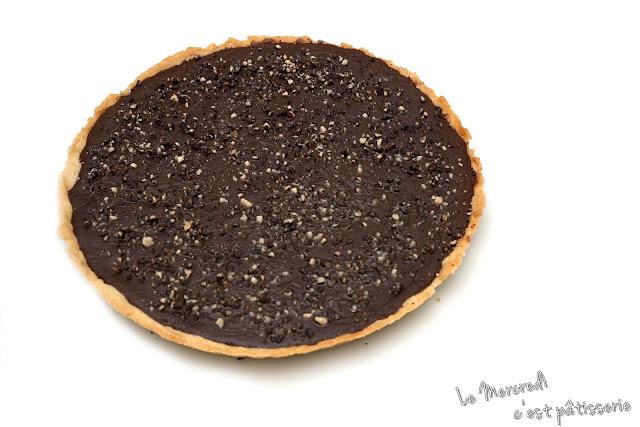 Tarte tiède Nutella - chocolat de Pierre Hermé