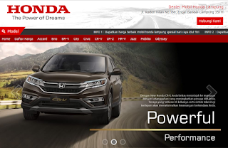 Info Kredit Mobil Honda Lampung