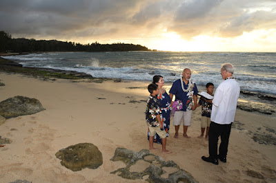 Sunset Vow Renewal