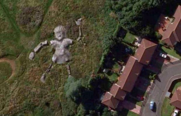 10 اماكن غامضة علي Google Earth