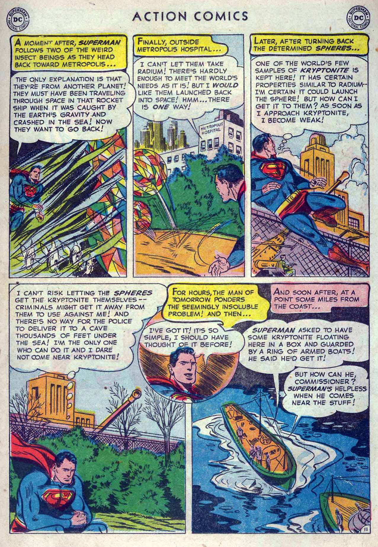 Read online Action Comics (1938) comic -  Issue #167 - 13