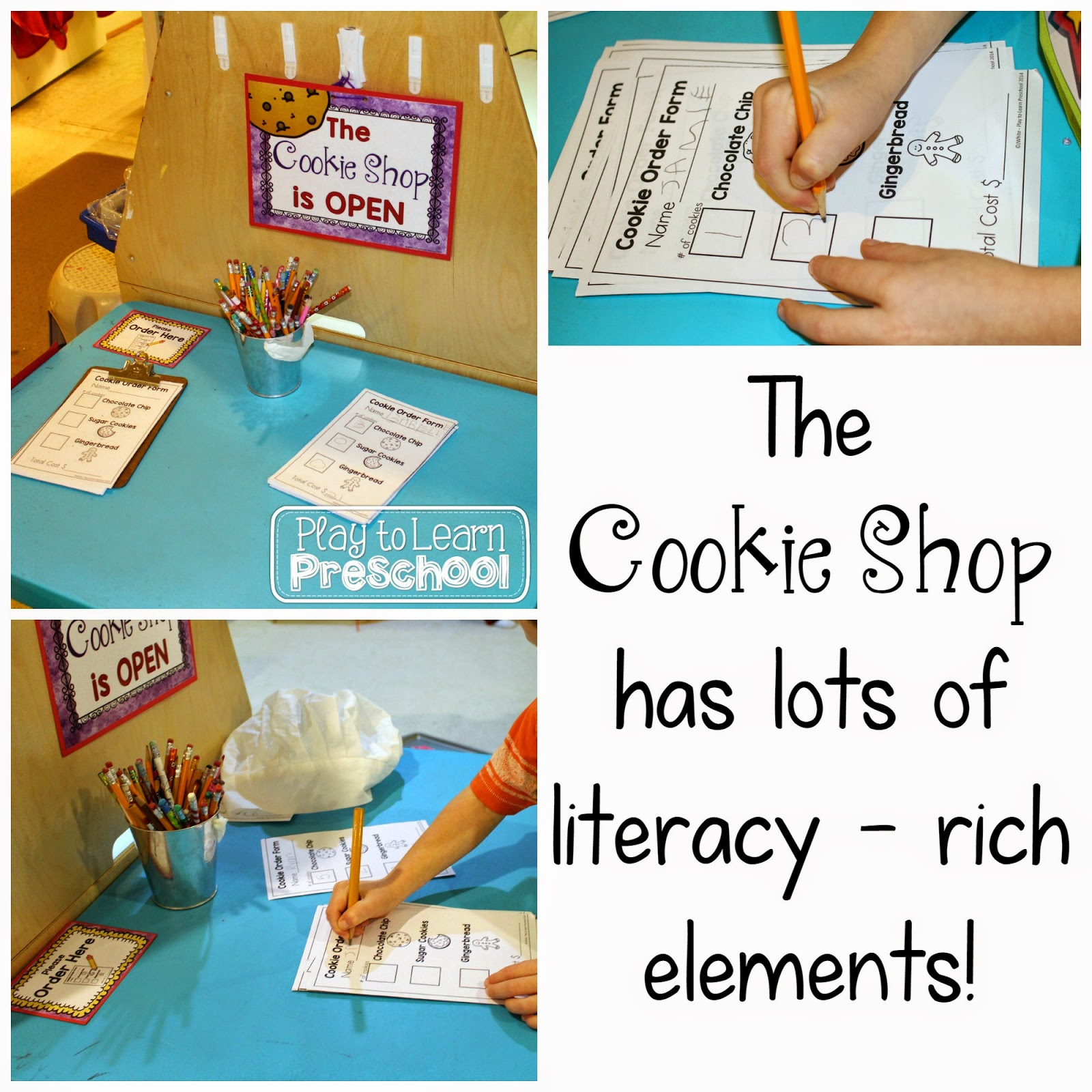 Play To Learn Preschool Cookie Shop Dramatic Play