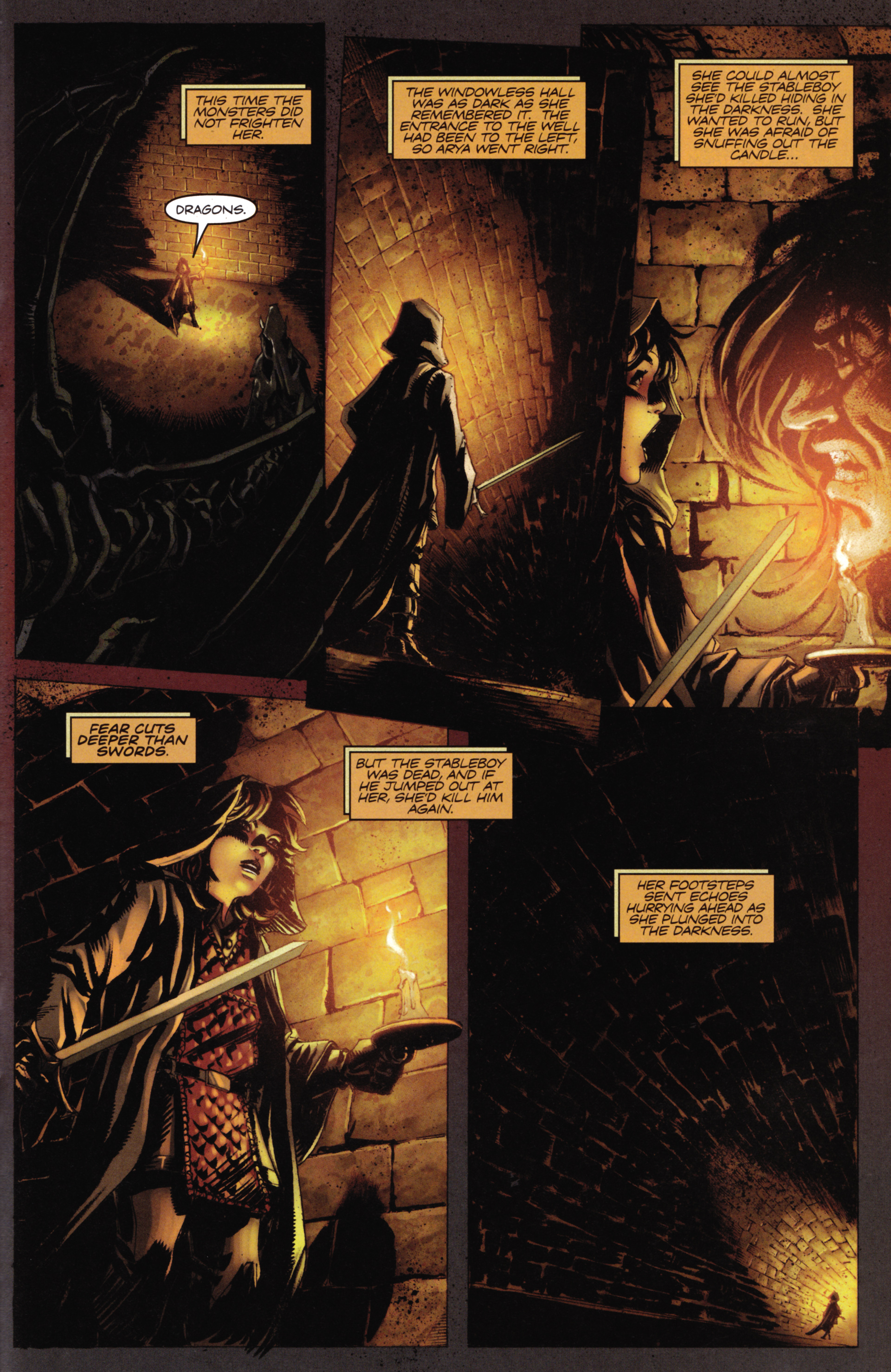 Read online A Game Of Thrones comic -  Issue #16 - 25