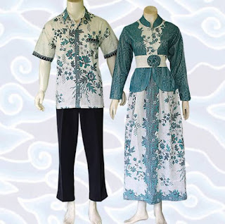 model baju batik sarimbit muslim
