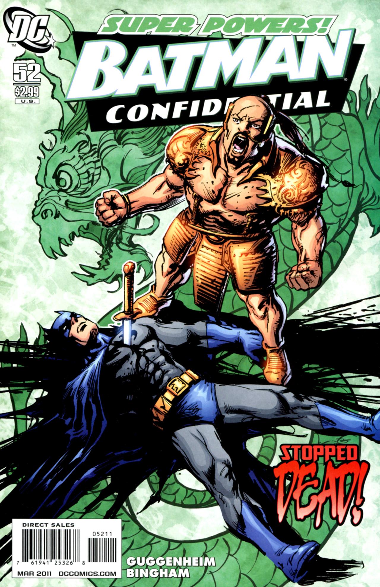 Batman Confidential Issue #52 #52 - English 1