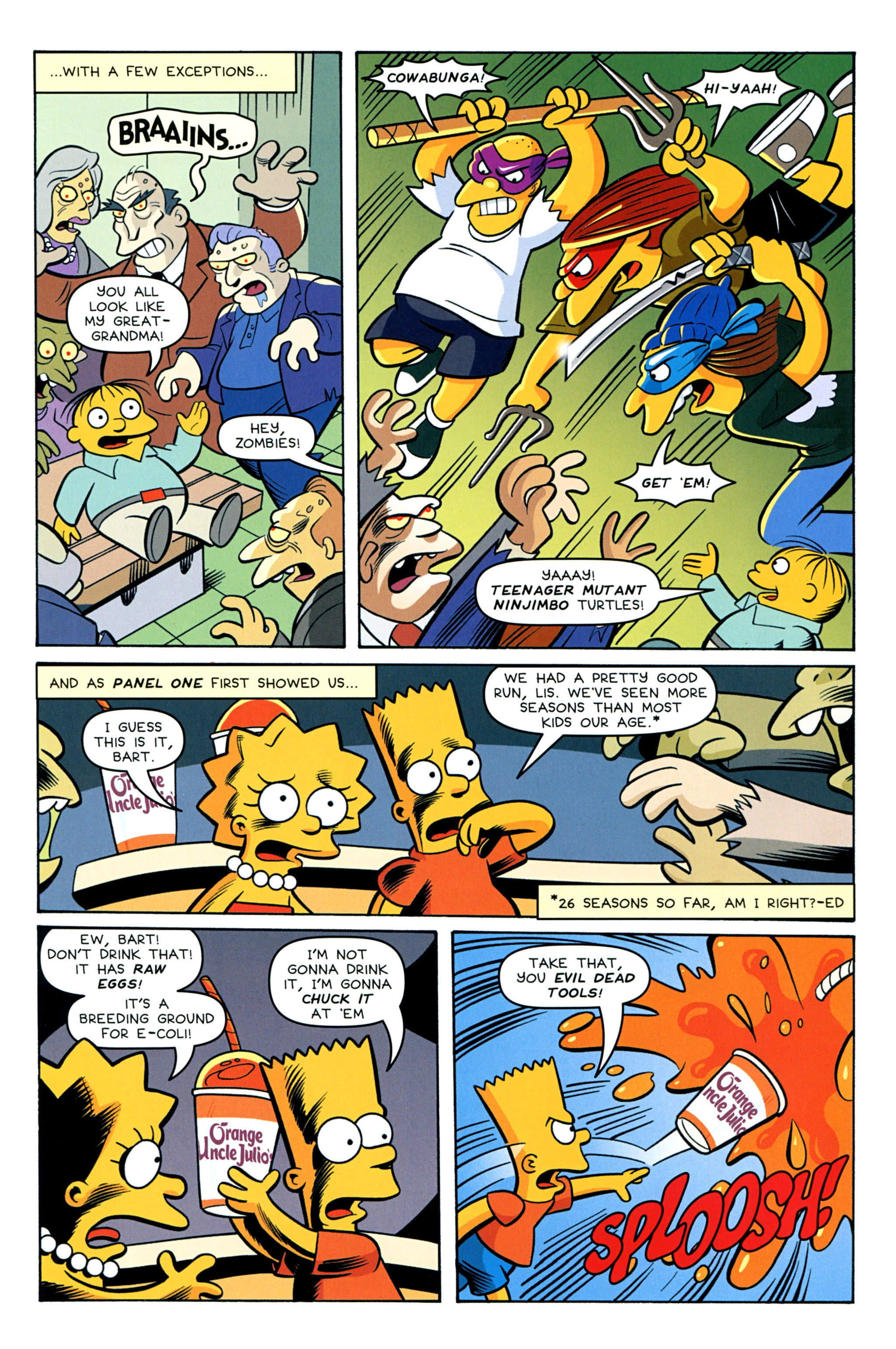 Read online Treehouse of Horror comic -  Issue #20 - 31