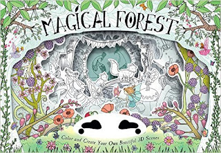 Magical Forest: Color and Create Your Own Beautiful 3D Scenes