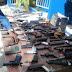 Decomisan decenas de armas de fabricación cacera en Neyba