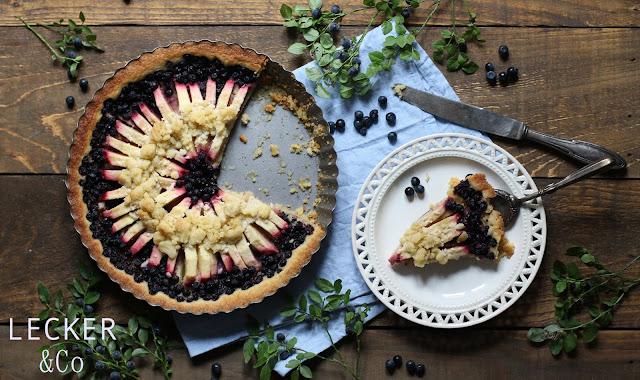 ,Foodblogger, lecker, Blog, Foodblog, Yummy, selbstgemacht, homemade, Blogger, Tina, Kuchen, Streuselkuchen, Apfelkuchen, Waldheidelbeeren, Blaubeeren, Heidelbeeren, Vanille, Tarte, Apfelstreuselkuchen, Torte, süß, süßigkeit, nachtisch, dessert, sonntagskuchen