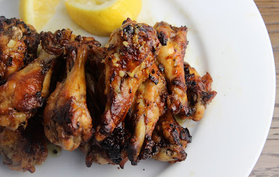 Lemon Garlic Chicken Wings