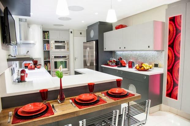 Cocinas Modernas para Espacios Pequeños Modern Kitchens : Decoración ...