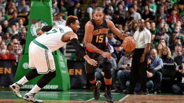 Jared Sullinger (Boston Celtics) et Al Horford (Atlanta Hawks) se retrouvent en Playoffs tout juste une semaine après s'être joué en saison régulière #NBA