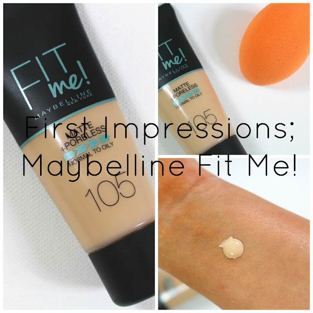 First Impressions Maybelline Fit Me and Swatches