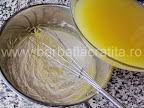 Prajitura cu portocale preparare reteta crema - turnam sucul