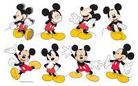 Mickey Disney Vetor, vector