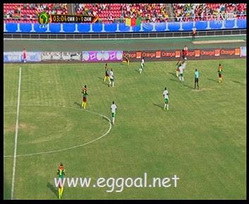 اهداف مباراة الكاميرون وزامبيا 12-11-2016 تصفيات كأس العالم 2018-افريقيا