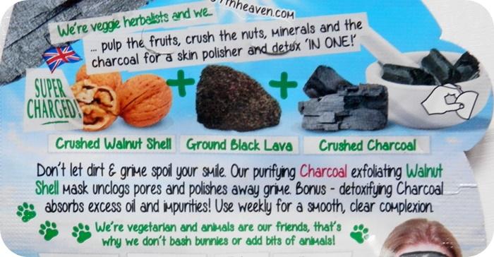 INCI mascarilla carbon 7th heaven ingredientes