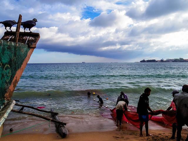 Sri Lanka spiaggia