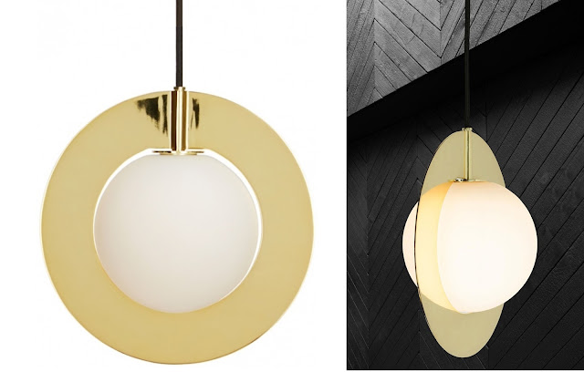 suspension plane round tom dixon; zeste-deco.blogspot.com