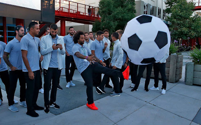 أعرف الان | تشكيل ريال مدريد امام مانشستر يونايتد في الكأس الدولية للأبطال 2017