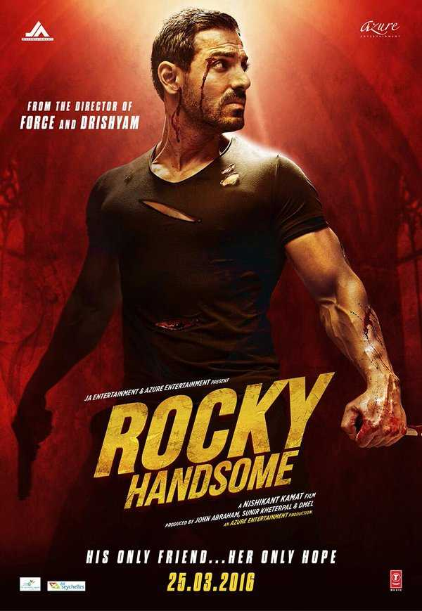 Rocky Handsome (2016) Hindi 480p HDRip 300mb