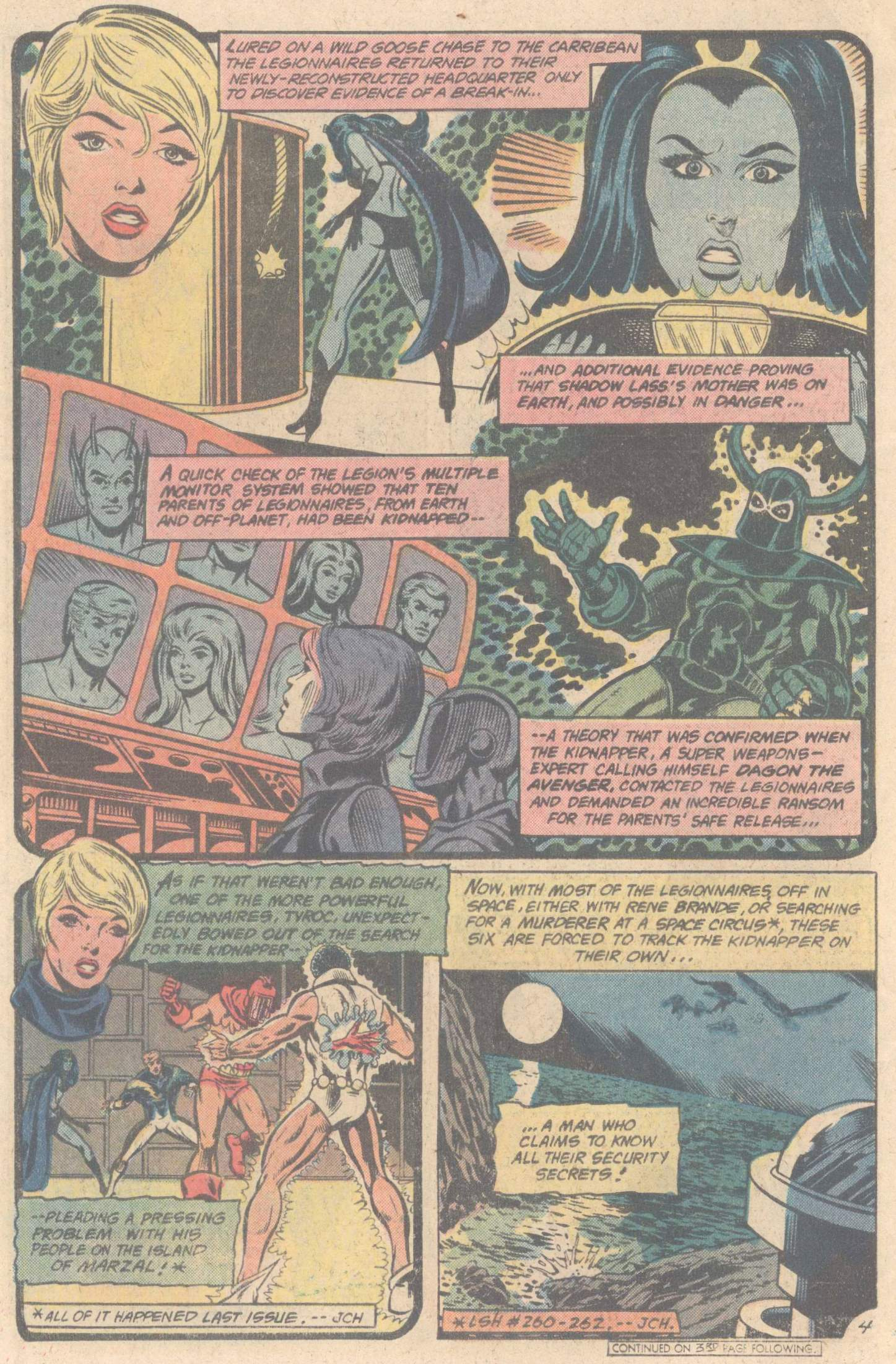 Legion of Super-Heroes (1980) 264 Page 5