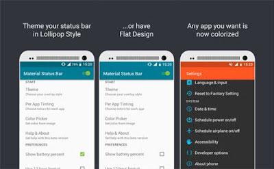 5 Aplikasi Untuk Mengedit Status Bar di Android Tanpa Root