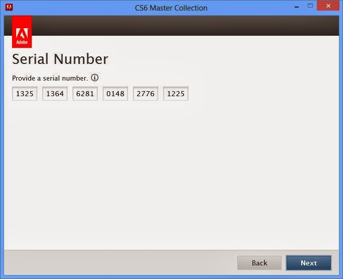 cs6 master collection serial number free