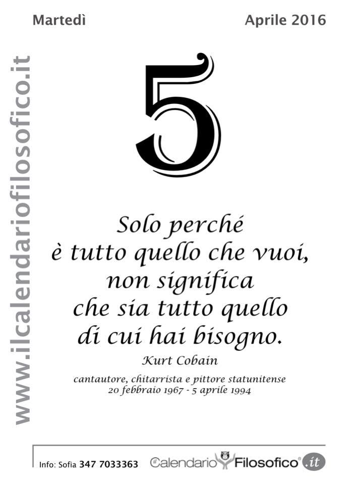 Calendario Filosofico Frase Di Oggi.Frase Del Giorno Dal Calendario Filosofico Liparinet