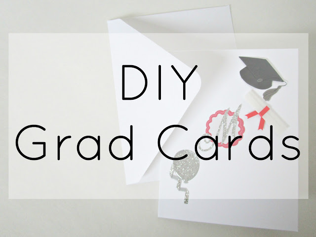 DIY Graduation Cards from Courtney's Little Things