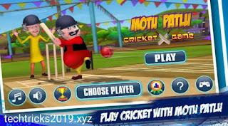 motu  patlu cricket game dwonload