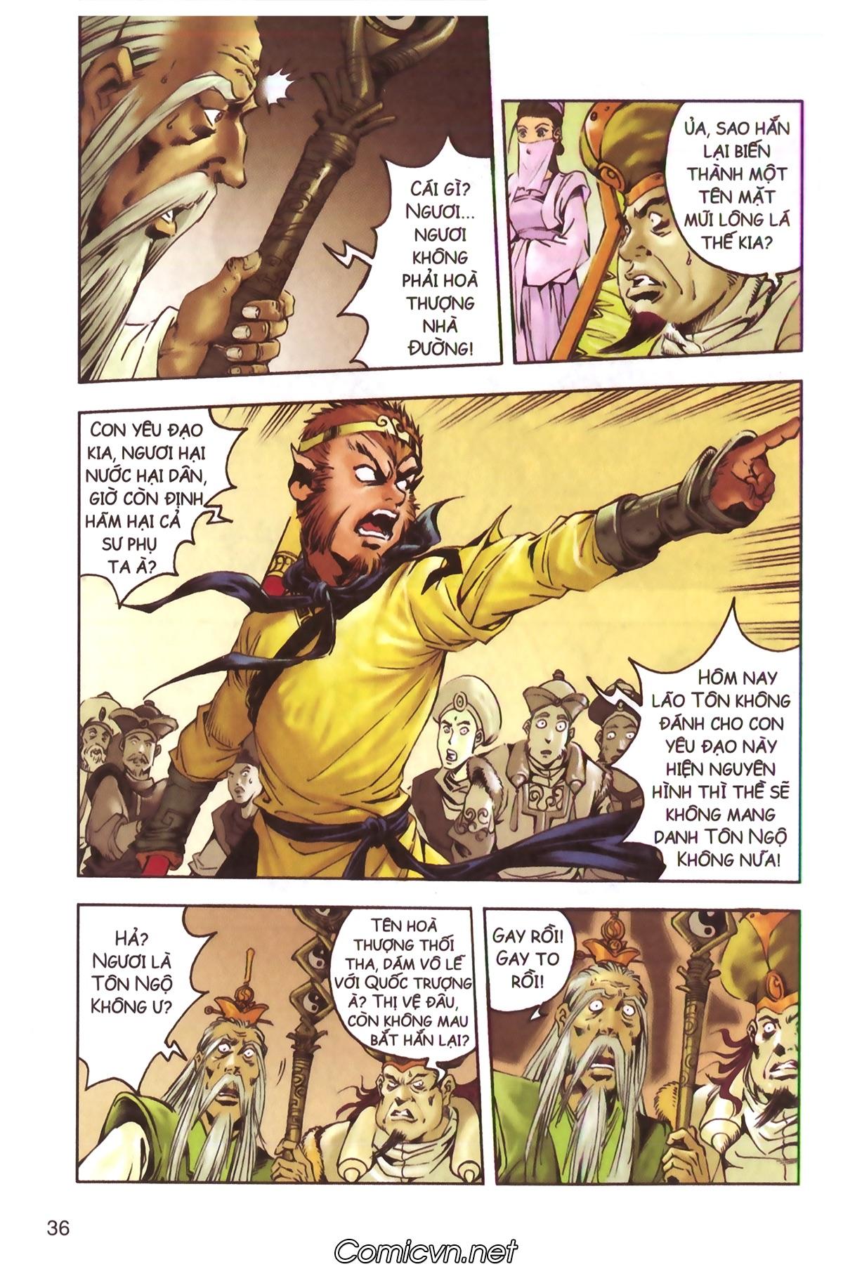 Tây Du Ký màu - Chapter 130 - Pic 16