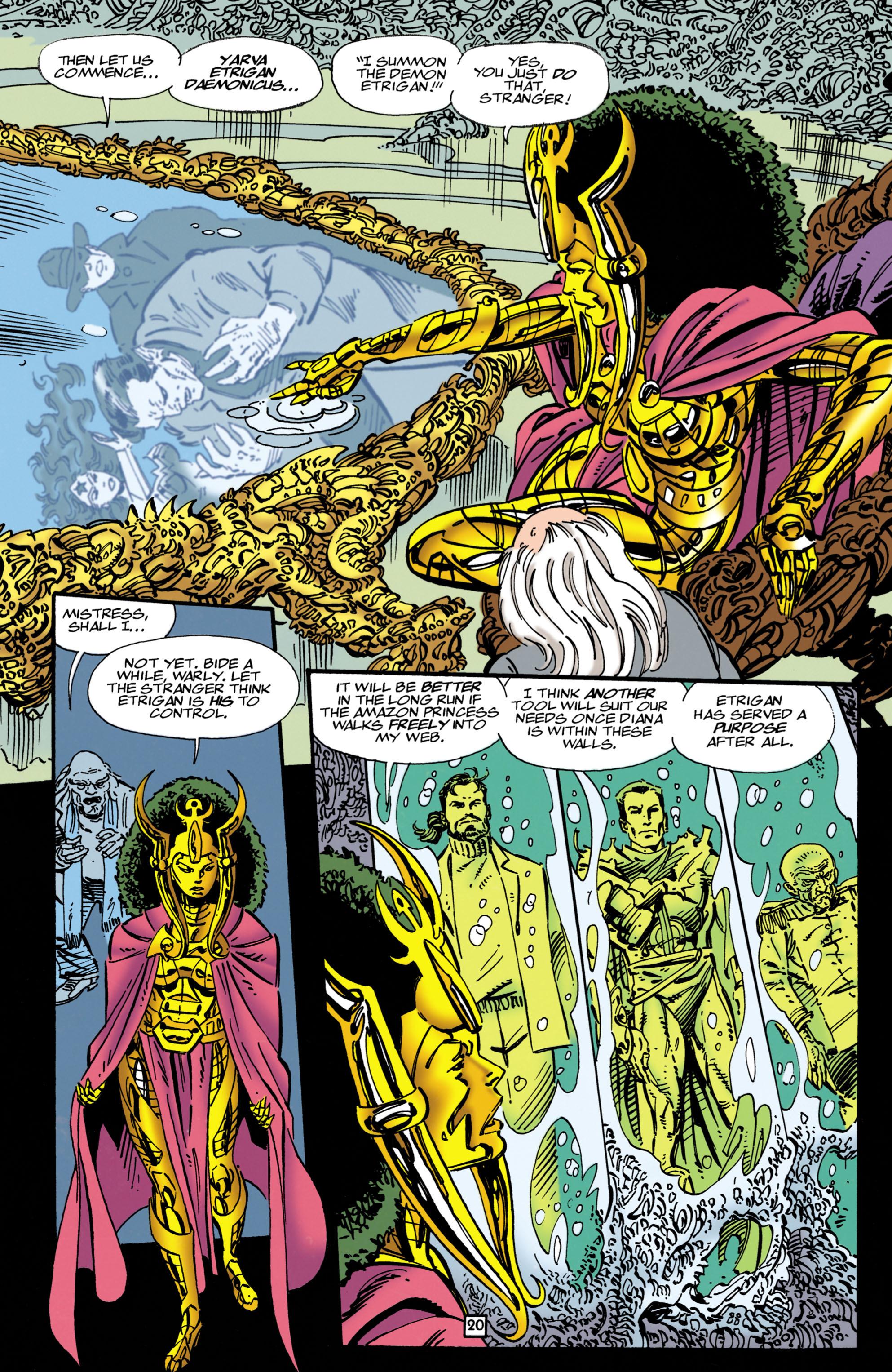 Read online Wonder Woman (1987) comic -  Issue #107 - 20