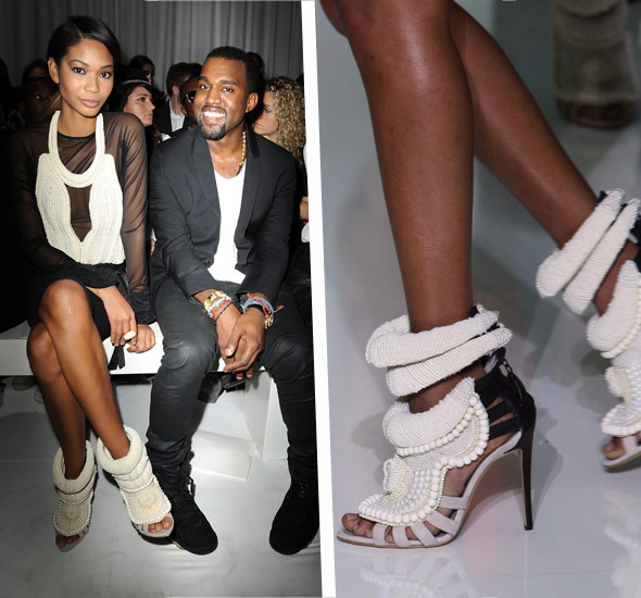 ec0fa6fde Giuseppe Zanotti shoes designed by West. When Kanye West debuted ...