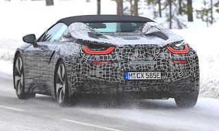 2019 BMW i8 Roadster Specs