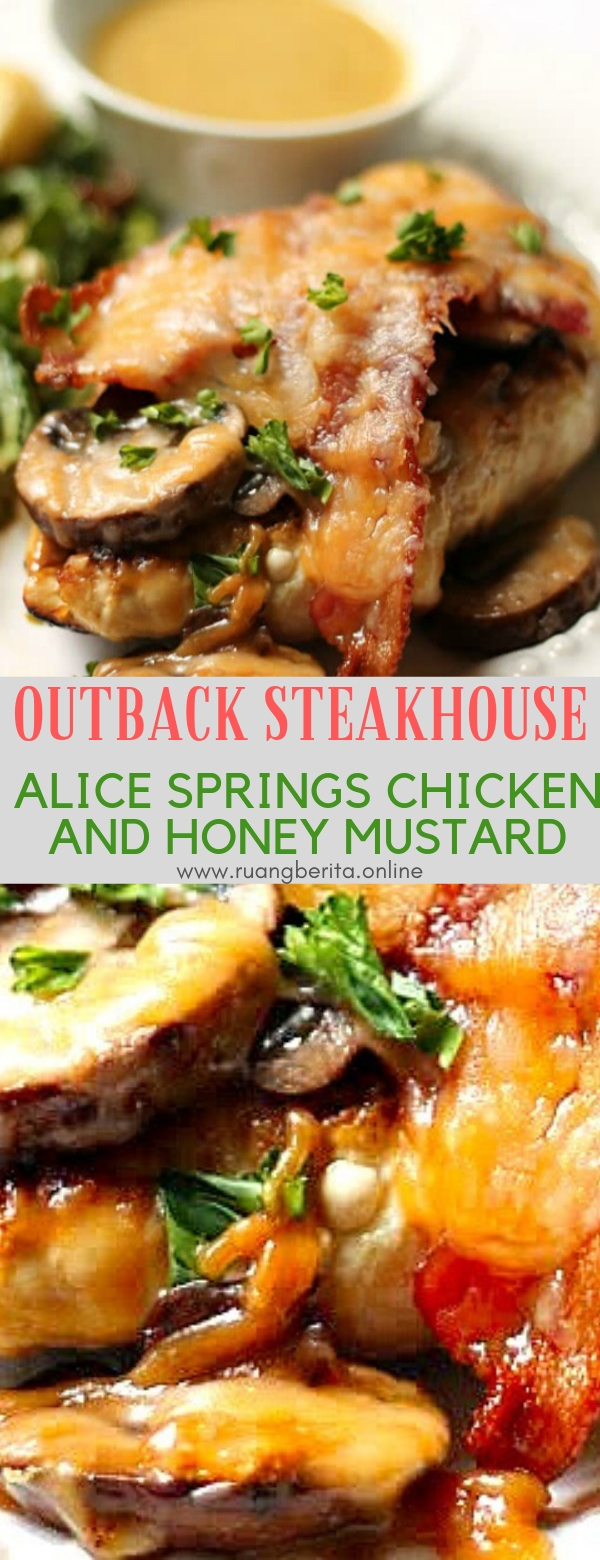 OUTBACK STEAKHOUSE ALICE SPRINGS CHICKEN AND HONEY MUSTARD RECIPE #maincourse #steak #chicken #honey #mustard #dinner