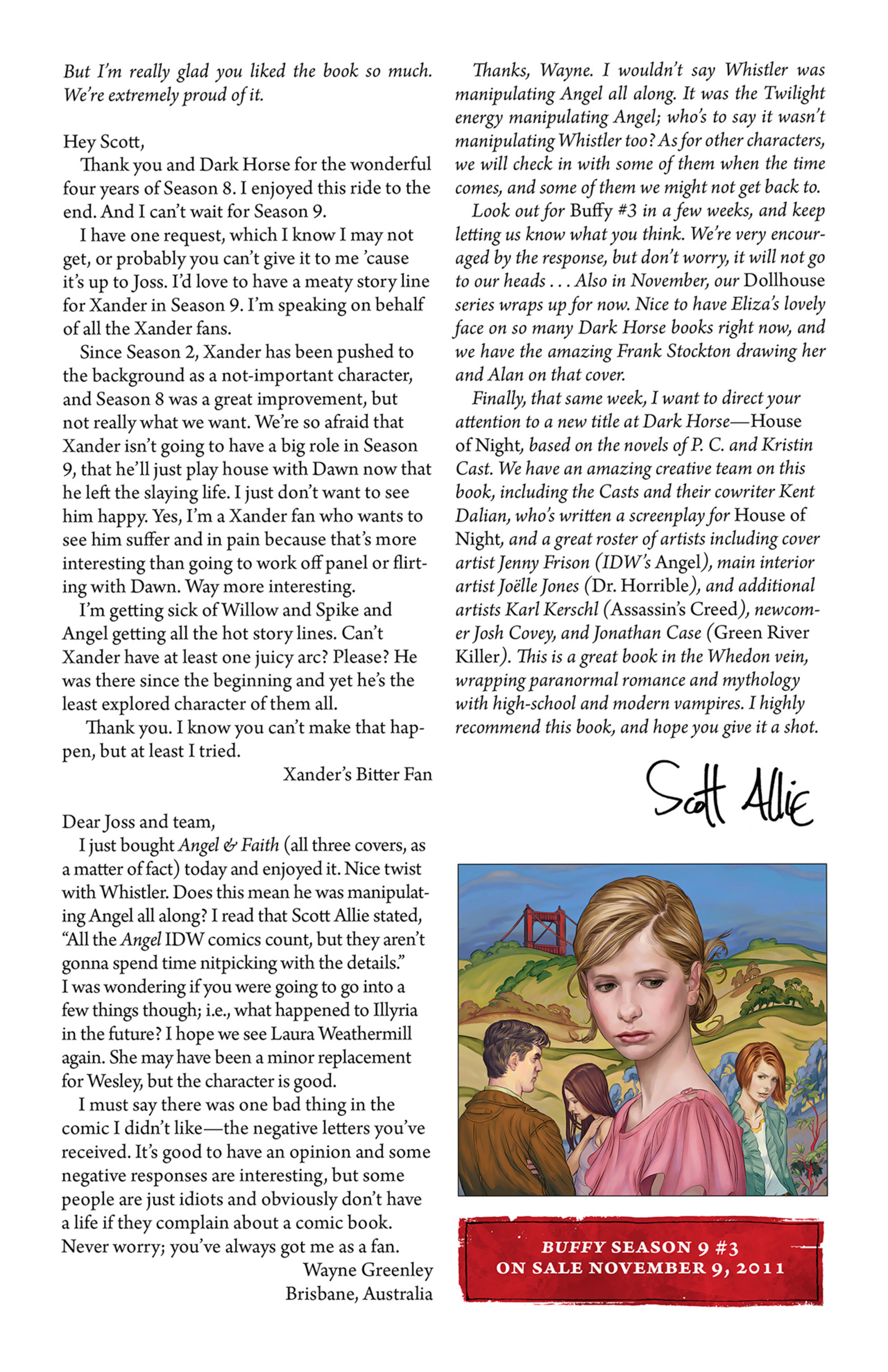 Read online Angel and Faith comic -  Issue #3 - 27