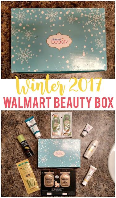 Winter 2017 Walmart Beauty Box Review--Is it worth $5?
