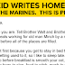 A Farm Kid Writes Home After Joining The Marines – This Is Priceless