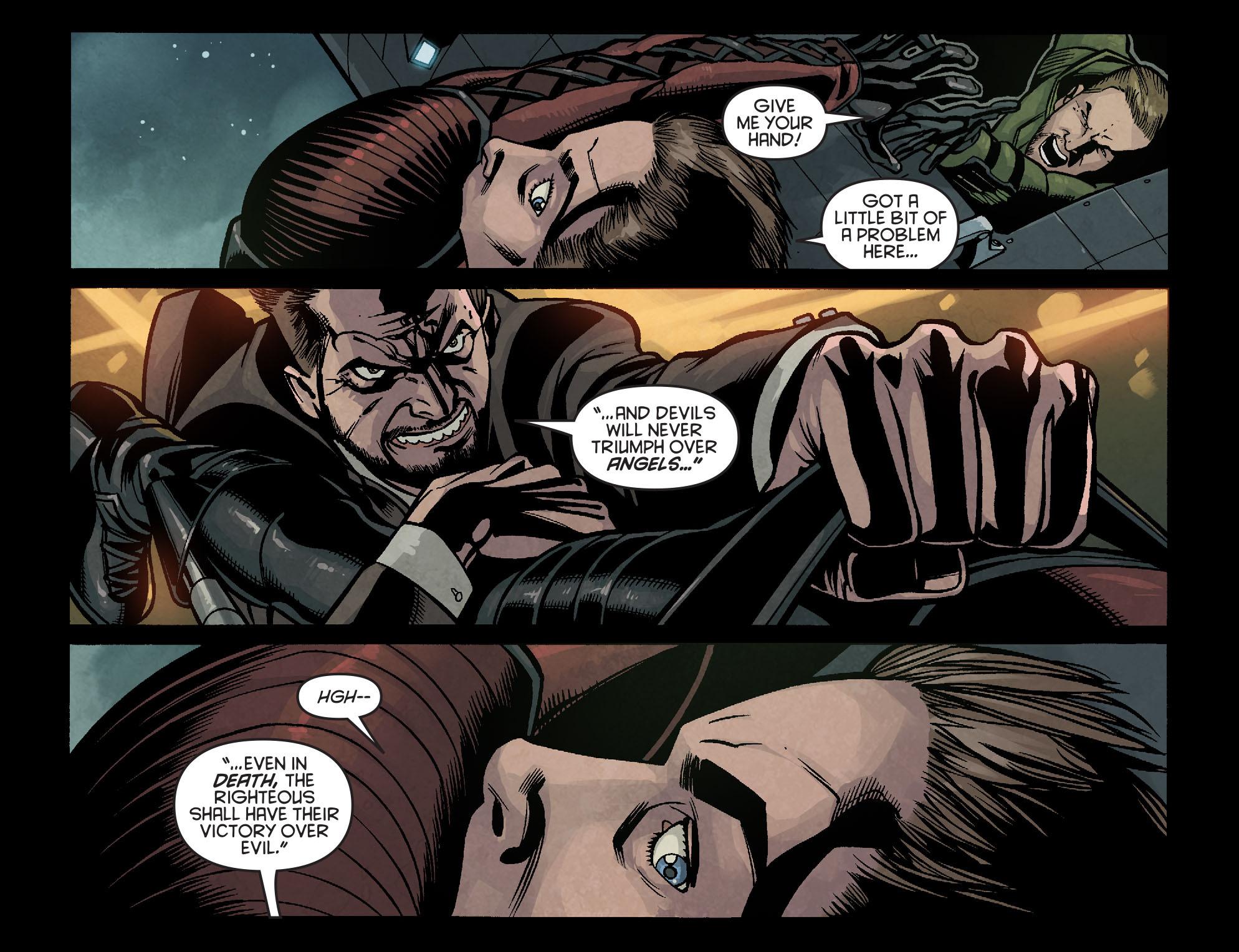Read online Arrow: Season 2.5 [I] comic -  Issue #16 - 14