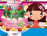 لعبة طبخ كعكة الحلوى